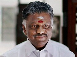O Panneerselvam sworn-in as Chief Minister of Tamil Nadu