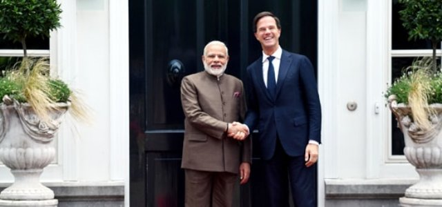 India-Netherlands Joint Communique released=