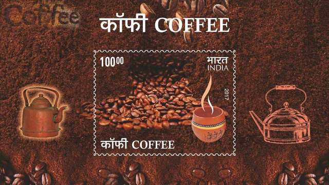 Postage stamp dedicated to coffee released