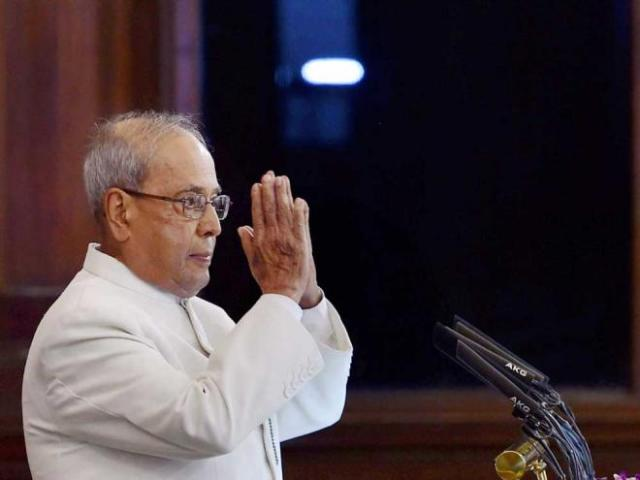 Parliament bids farewell to outgoing President Pranab Mukherjee