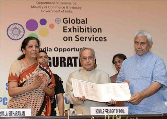 Services a key growth driver of Indian economy: President Mukherjee