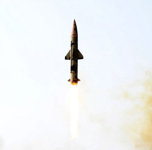 ballistic missile Prithvi-ll