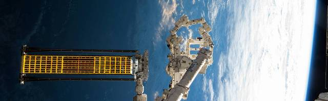 NASA tests ROSA on Space Station for first time
