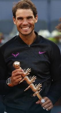 Rafael Nadal wins 5th Madrid Open title