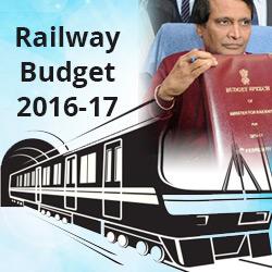 Railway Budget 2016-17