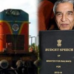 Union Railway Budget 2013-14