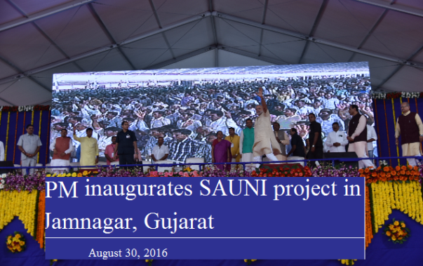 SAUNI (Saurastra Narmada Avataran Irrigation) project