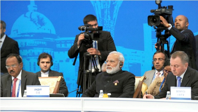 India, Pakistan admitted to SCO as full members