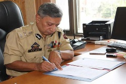 SP Vaid appointed as J&K police chief