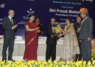 Saakshar Bharat Awards 2014