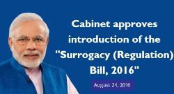 Surrogacy (Regulation) Bill, 2016