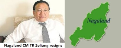 TR Zeliang Resigned as Nagaland CM