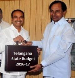 Telangana State Budget 2016-17