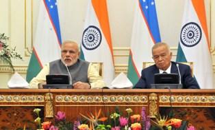 India and Uzbekistan