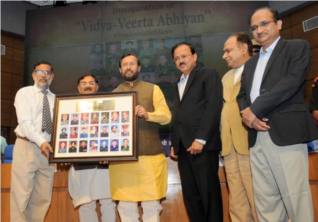 Prakash Javadekar launches Vidya Veerta Abhiyan