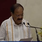 Venkaiah Naidu sworn in as 13th Vice President =