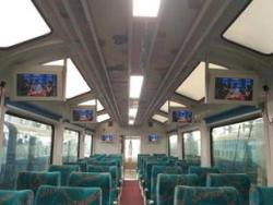 glass roof coaches on Visakhapatnam-Araku route