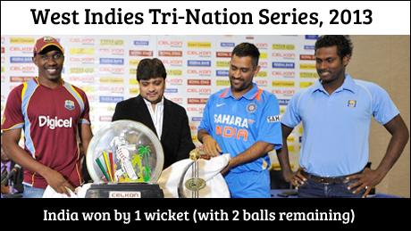 West Indies Tri-Nation Series 2013