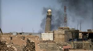 al-Nuri Mosque of Mosul blown up =