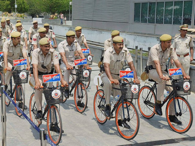 Delhi Police launches Bicycle Patrols