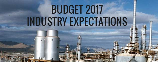 budget industry expectations 2017