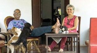 Claude and Norma Alvares