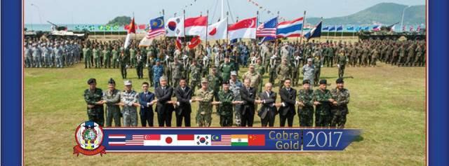cobra gold 2017 Thailand Donald Trump