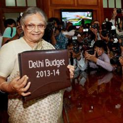 Delhi budget 2013-14