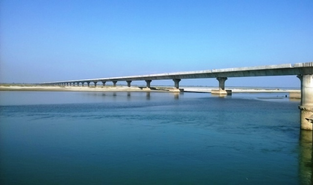 India's longest bridge Dhola-Sadiya in Assam