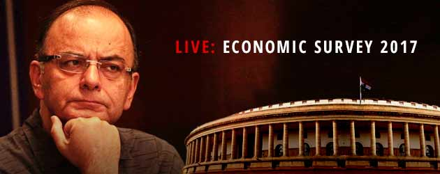 economic suvey jaitley 2017