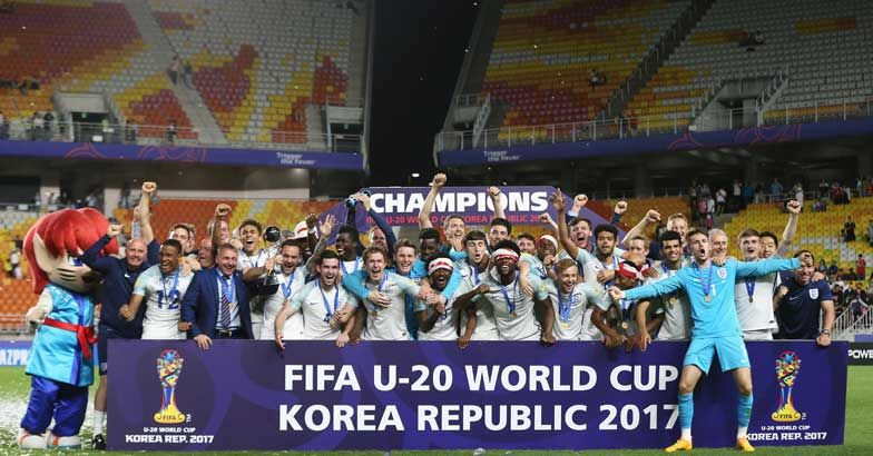 England beat Venezuela to win FIFA U-20 World Cup for first time