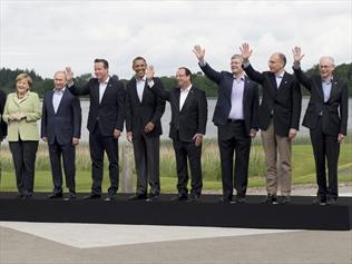 G-8 meeting