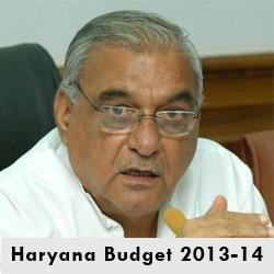 haryana budget 2013-14