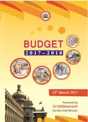 karnataka budget 2017 Siddaramaiah