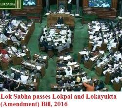 Lokpal and Lokayukta (Amendment) Bill, 2016