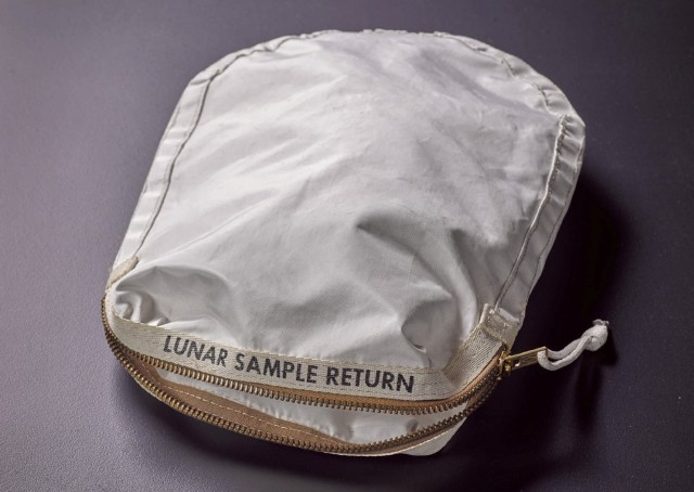 Neil Armstrong's Moon Dust Bag