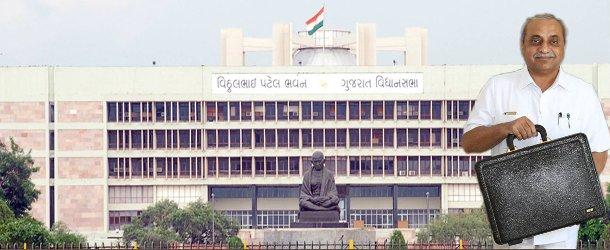 nitibhai patel gujarat budget