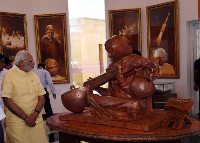 PM Modi inaugurates Dr APJ Abdul Kalam Memorial in Rameswaram