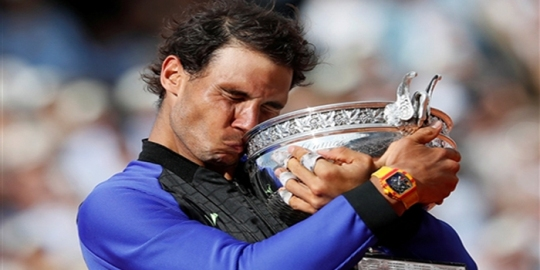 Rafael Nadal wins 10th French Open Men's Singles title