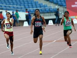 Indian Women's 4 x 100m Relay Team