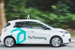 self-driving taxi service