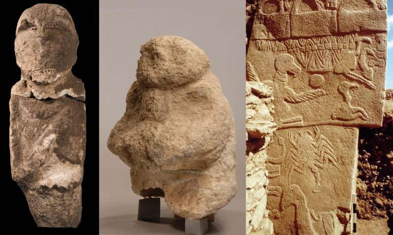 Carved skulls fragments discovered at a Stone Age temple in Turkey