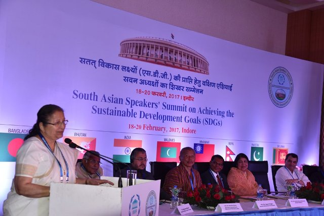 south Asian speakers summit Indore