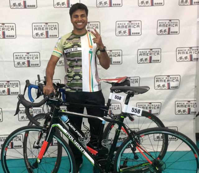 Srinivas Gokulnath becomes first Indian to finish RAAM