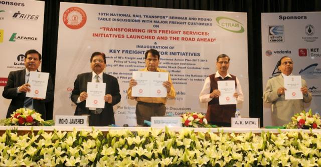 suresh prabhu freight services initiatives