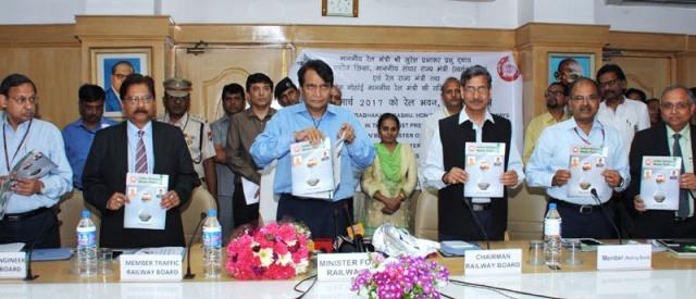 suresh prabhu water management policy railways