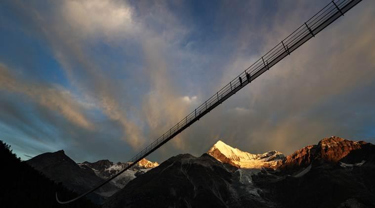 Switzerland launches world's longest pedestrian suspension bridge