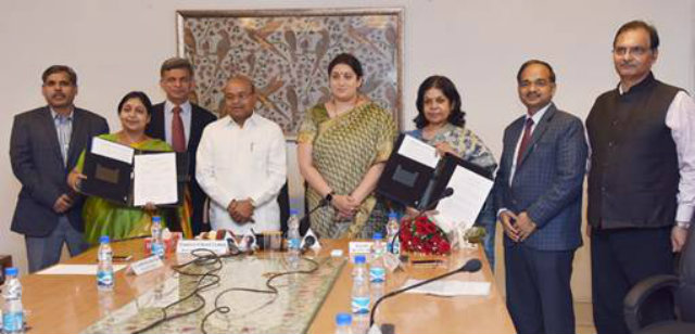tripartite MoU scheduled castes artisans