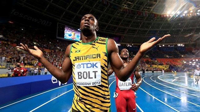 Usain Bolt won 100 metre sprint title at the 14th IAAF ...