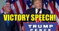 Victory Speech
